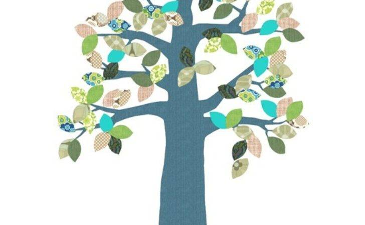Tree Supernice Wall Stickers Childrens Rooms