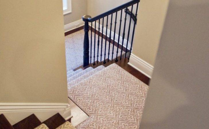 Tremendous Carpet Runner Stairs Decorating Ideas