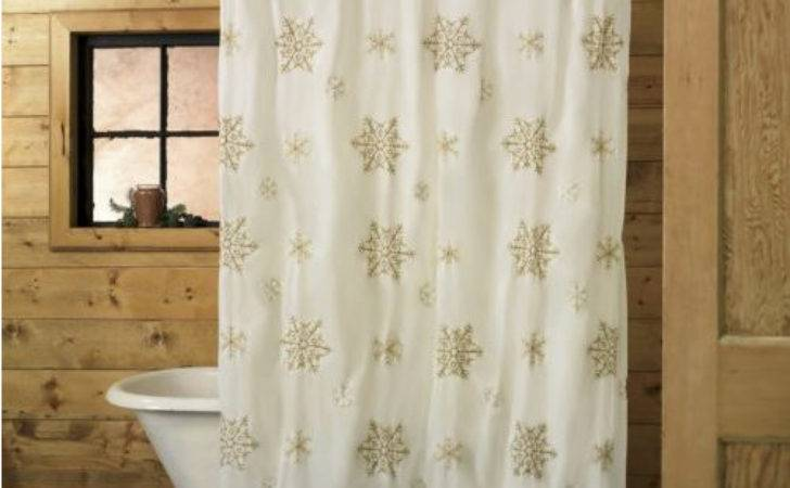 Trending Bathroom Decor Holiday Shower Curtain Styles