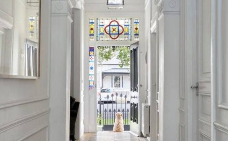 Trendy Victorian Hallway Design Ideas