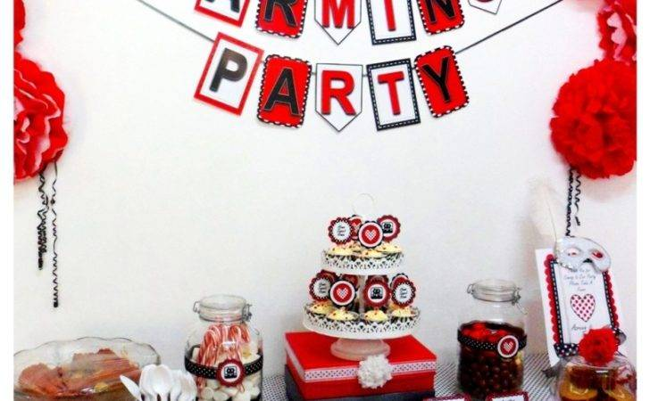 Tres Chic Party Planner Housewarming
