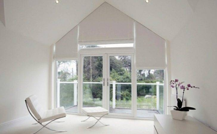 Triangular Windows Darken Window Blinds Films