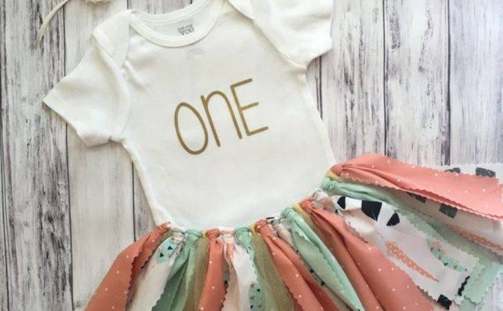 Tribal First Birthday Outfit Shabby Chic