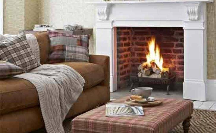 Tweed Inspired Living Room Country Rooms