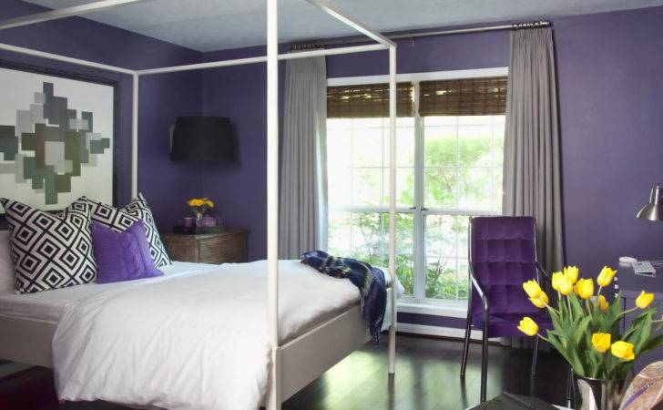 Two Colour Combination Bedroom Walls Home Combo