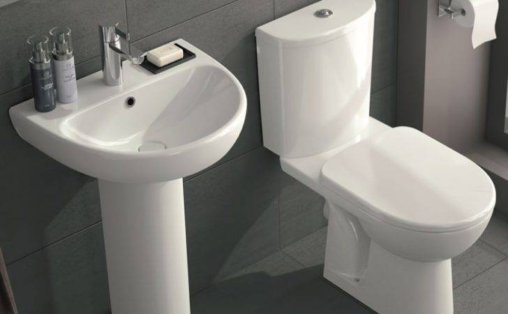 Twyford Round Toilet Wash Basin Set