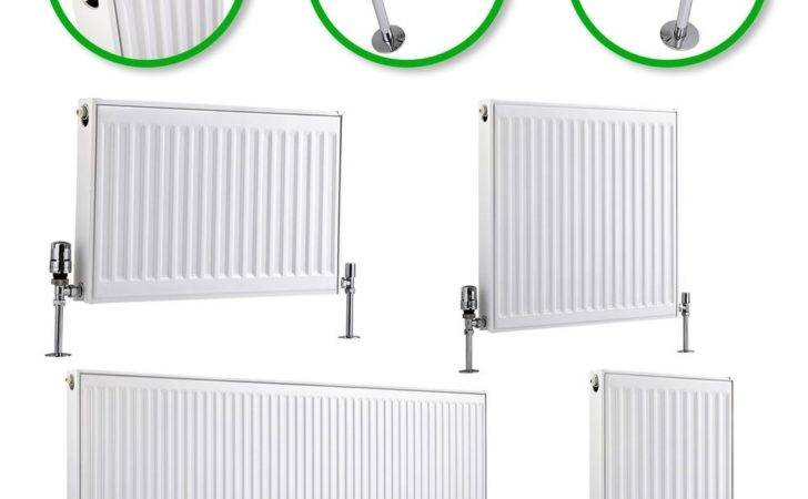 Type Compact Convector Radiator White