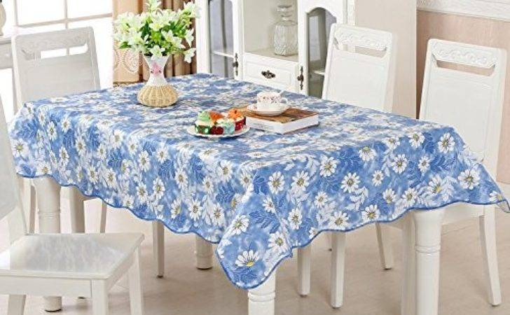 Uforme French Country Style Table Cloth Oil Proof Flannel