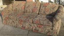 Uhuru Furniture Collectibles Sold Floral Print Sofa