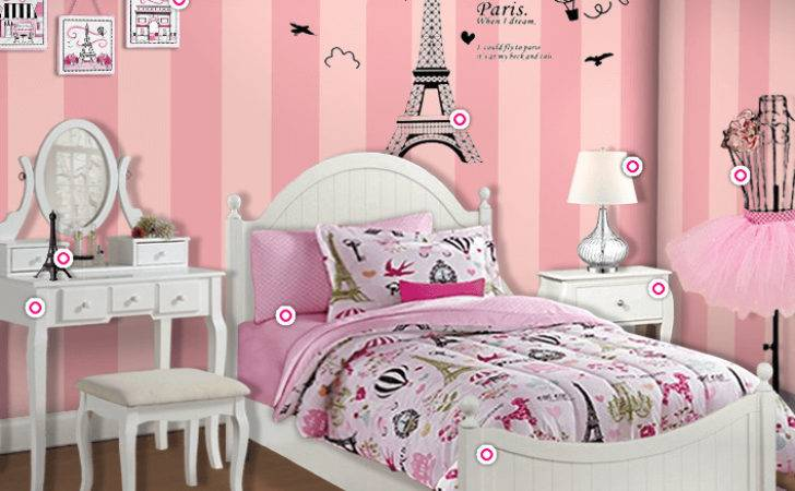 Ultimate Decor Paris Themed Bedroom