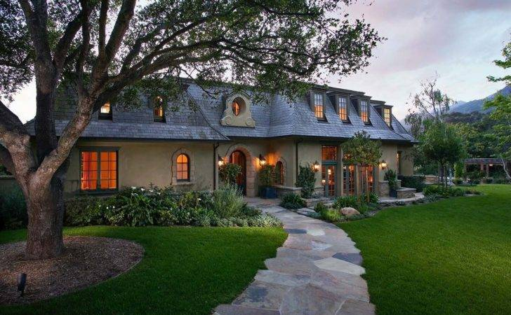Ultra Charming French Country Home Montecito California