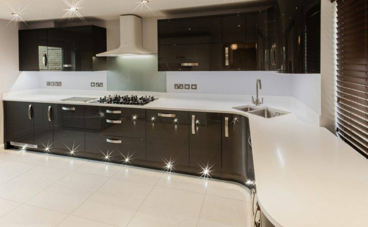 Ultra Modern Gloss Kitchen Ely Newrooms