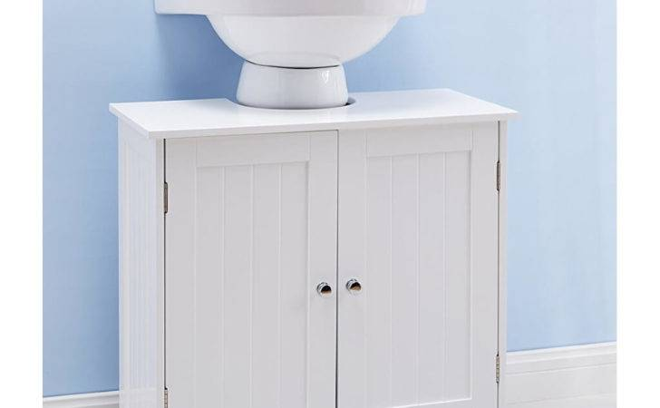 Under Sink Bathroom Cabinets Storage Ideas
