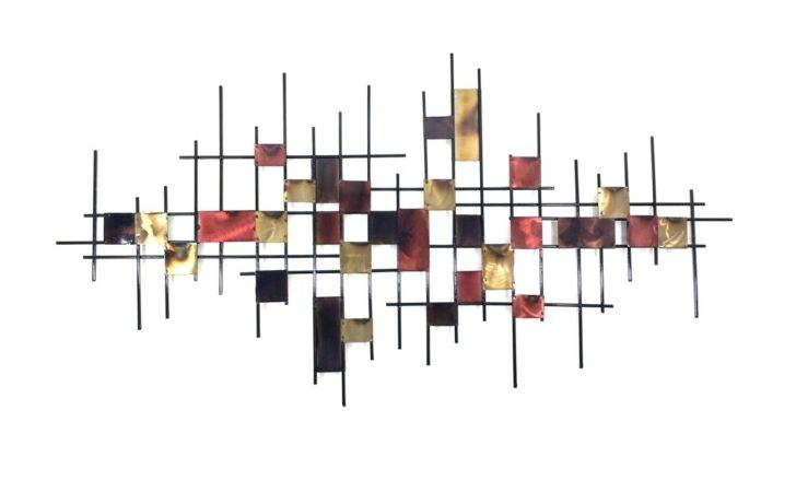 Underground Abstract Metal Wall Art