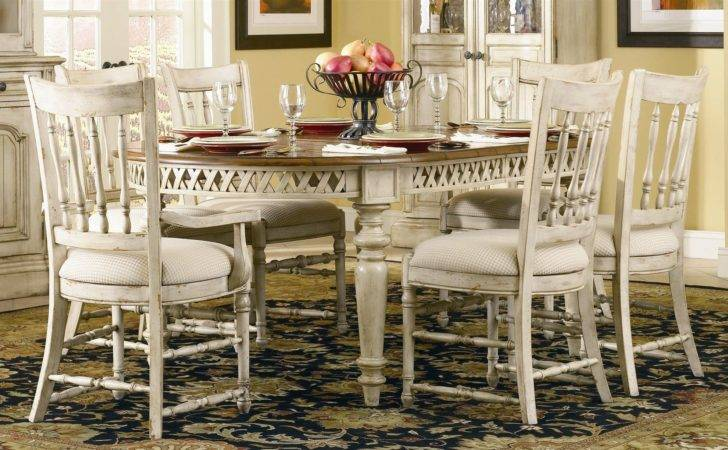 Unique French Country Style Dining Table Chairs
