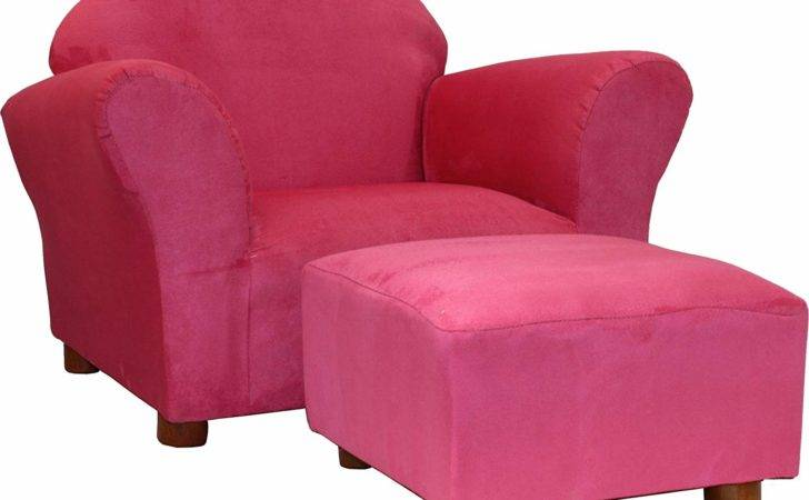 Upholstered Pink Chairs Girls Rooms