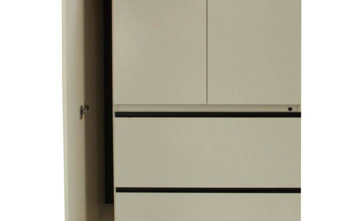 Used Laminate Utility Cabinet Off White National Office