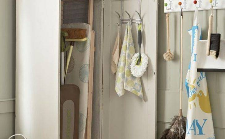 Utility Room Cupboard Storage Country Style
