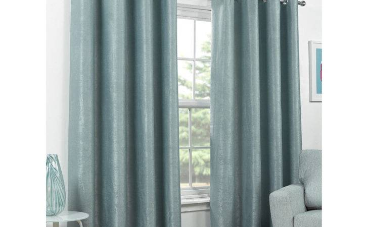 Valencia Textured Premium Blackout Eyelet Curtain