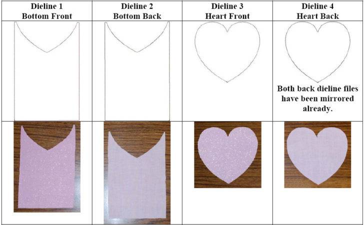 Valentine Card Applique Hoop Embroidery Article