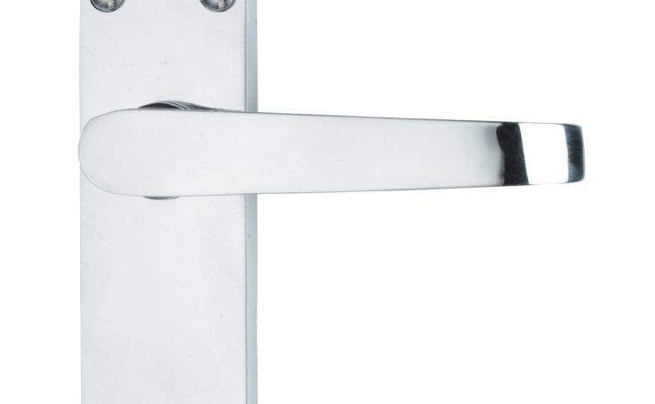 Value Polished Straight Door Handle Pack Pairs