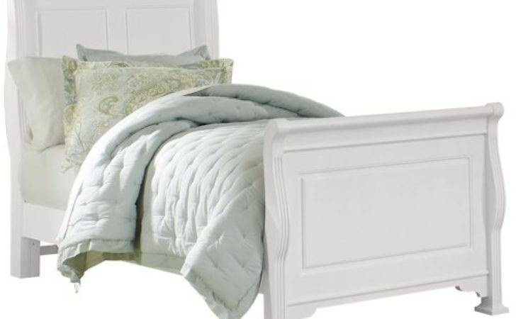 Vaughan Bassett French Market Transitional Twin Sleigh Bed
