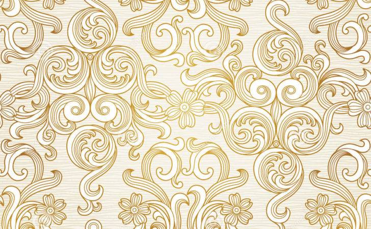 Vector Seamless Victorian Style