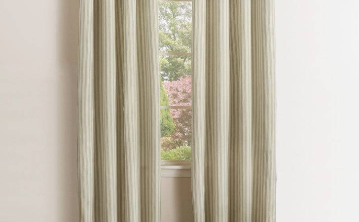 Vertical Striped Curtains Best Home Fashion Inc