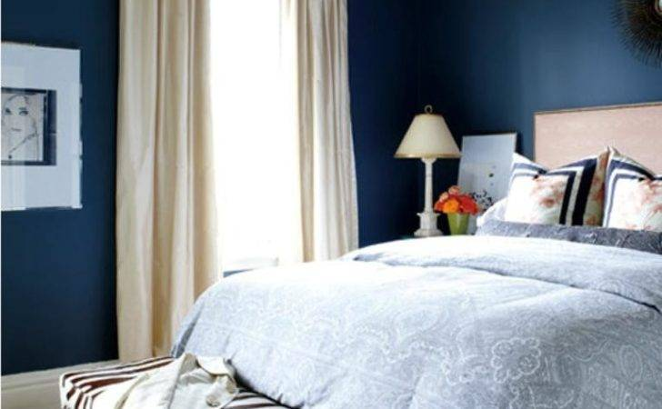 Vibrant Navy Blue Bedroom Design Ideas Rilane