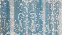 Victoria Lace Curtain Ivory Cream Voile Curtains