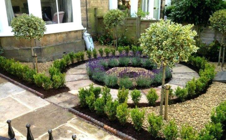 Victorian Front Gardens Excellent Small Formal