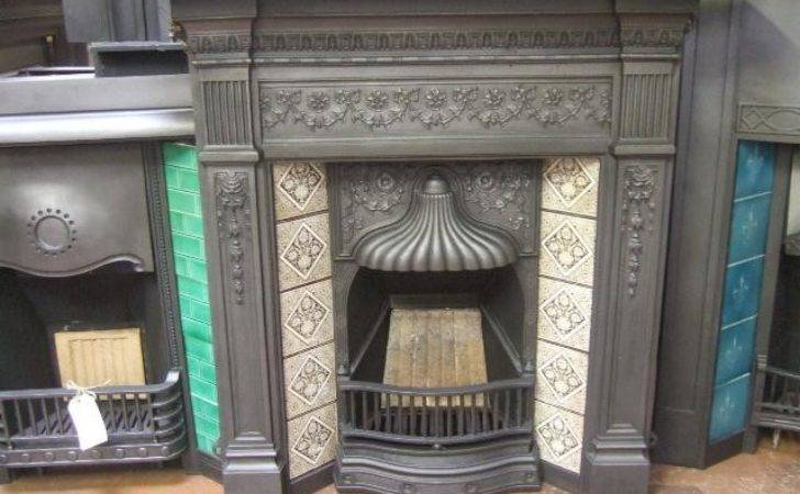 Victorian Tiled Combination Fireplace Old Fireplaces