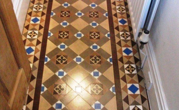 Victorian Tiled Floor Cleaned Sealed Southport