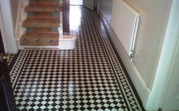Victorian Tiled Hallway Floor Cleaning Weeping Cross