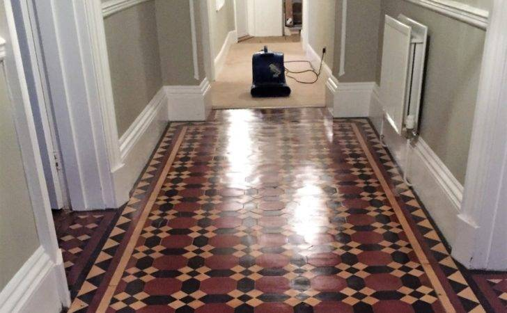 Victorian Tiled Hallway Restoration Bridlington Tile