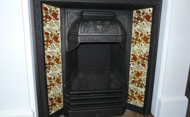 Victorian Tiled Insert Old Fireplaces