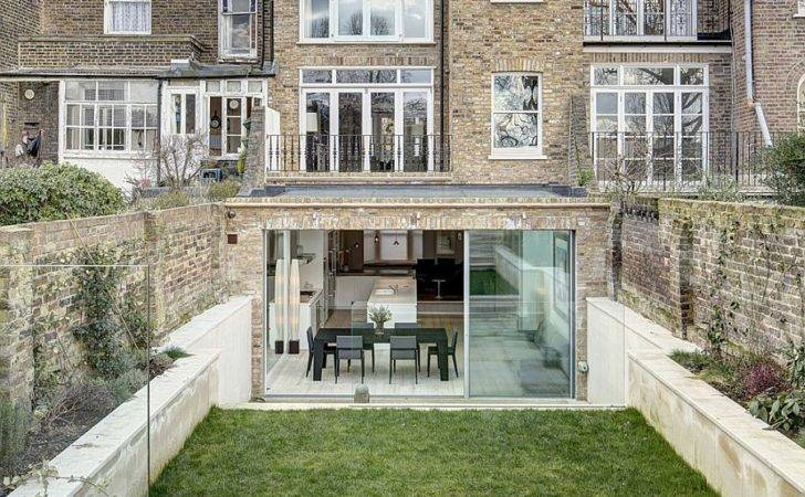 Victorian Townhouse Modern Extension Dos Architects