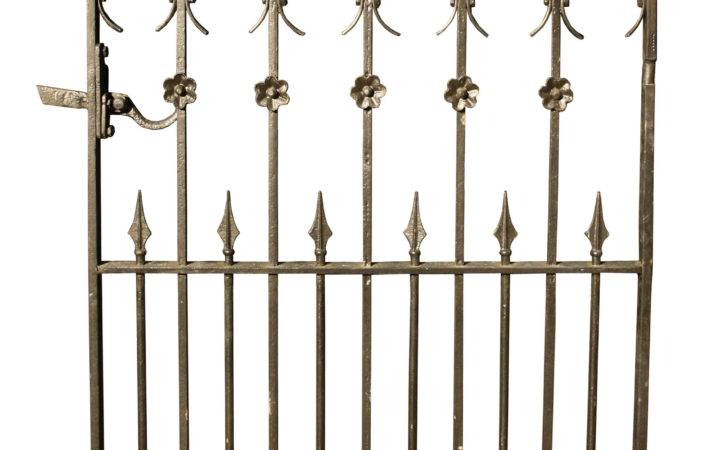 Victorian Wrought Iron Side Gate Architectural Heritage