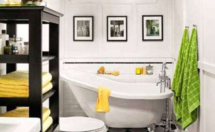 Vintage Black White Bathroom Tile Ideas