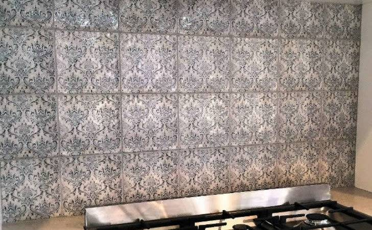 Vintage Feature Wall Moroccan Tiles Sydney Spanish