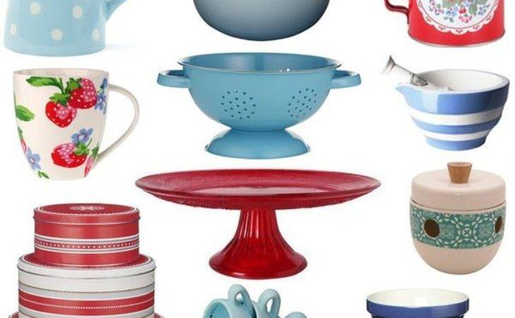 Vintage Kitchen Accessories Fits Our Common Room