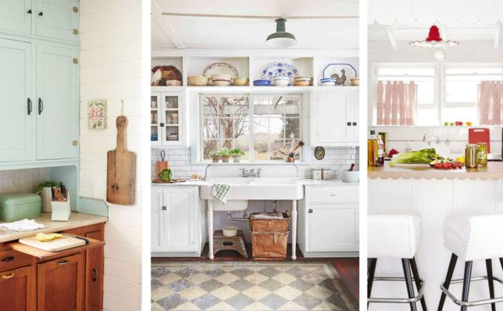 Vintage Kitchen Decorating Ideas Design Inspiration