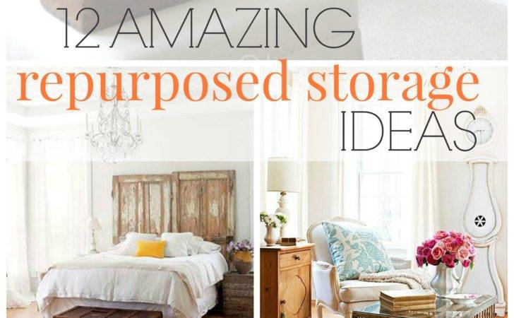 Vintage Living Amazing Repurposed Storage Ideas Bhg