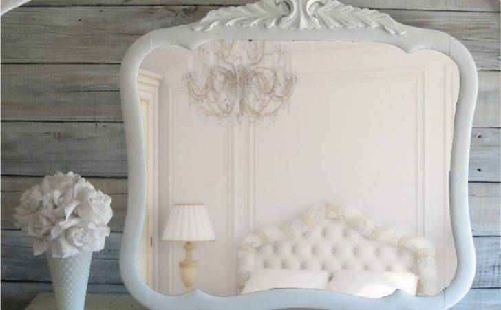 Vintage Shabby Chic Mirror Cottage French Country