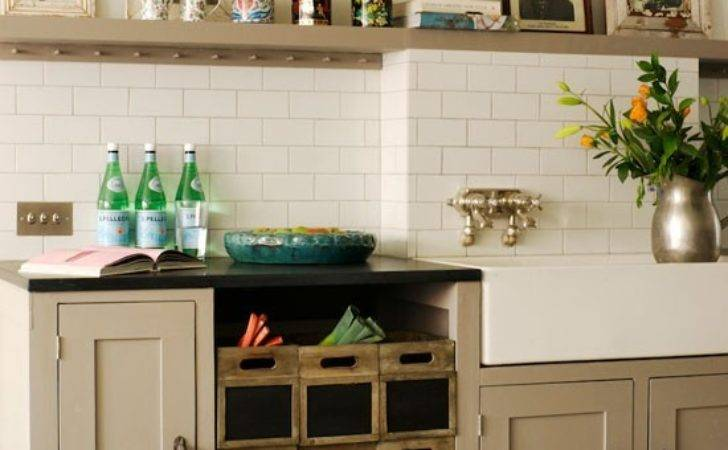 Vintage Style Kitchen Storage Furniture