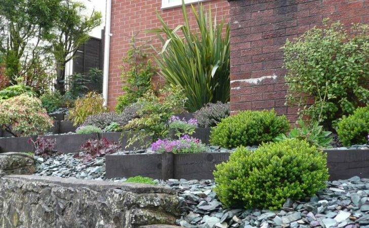 Visit Steeply Sloping Front Garden Rogerstone