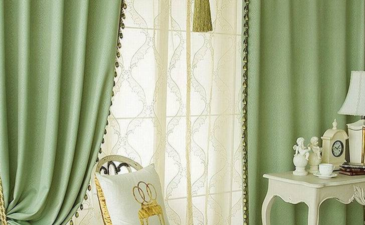 Voile Curtains Once While Home Textiles