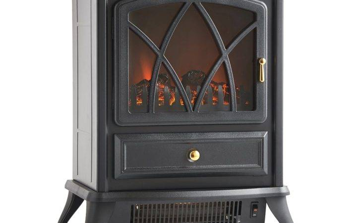 Vonhaus Portable Electric Stove Heater Fireplace