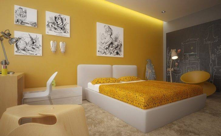 Wall Art Kids Bedroom Interior Designing Ideas