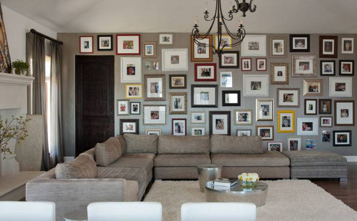Wall Collage Ideas Dining Room Transitional